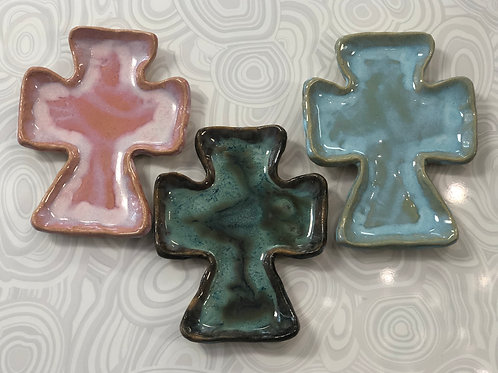Tab Boren Pottery - Cross Tray - Medium