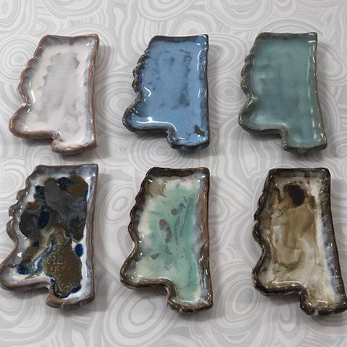 Tab Boren Pottery - MS Tray - Medium
