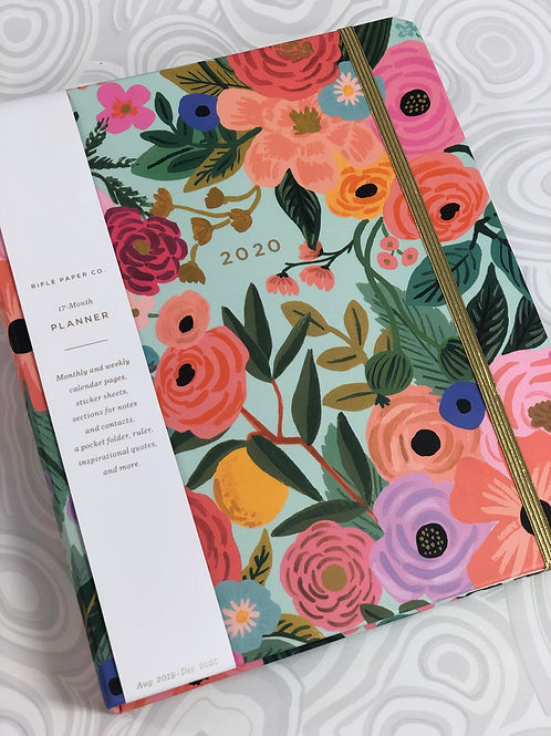 Rifle Paper Co. Garden Party 2020 - 17 Month Planner