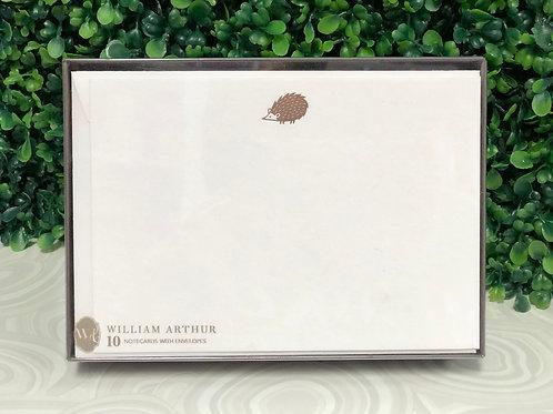 "Notecards - ""Hedgehog"" William Arthur"