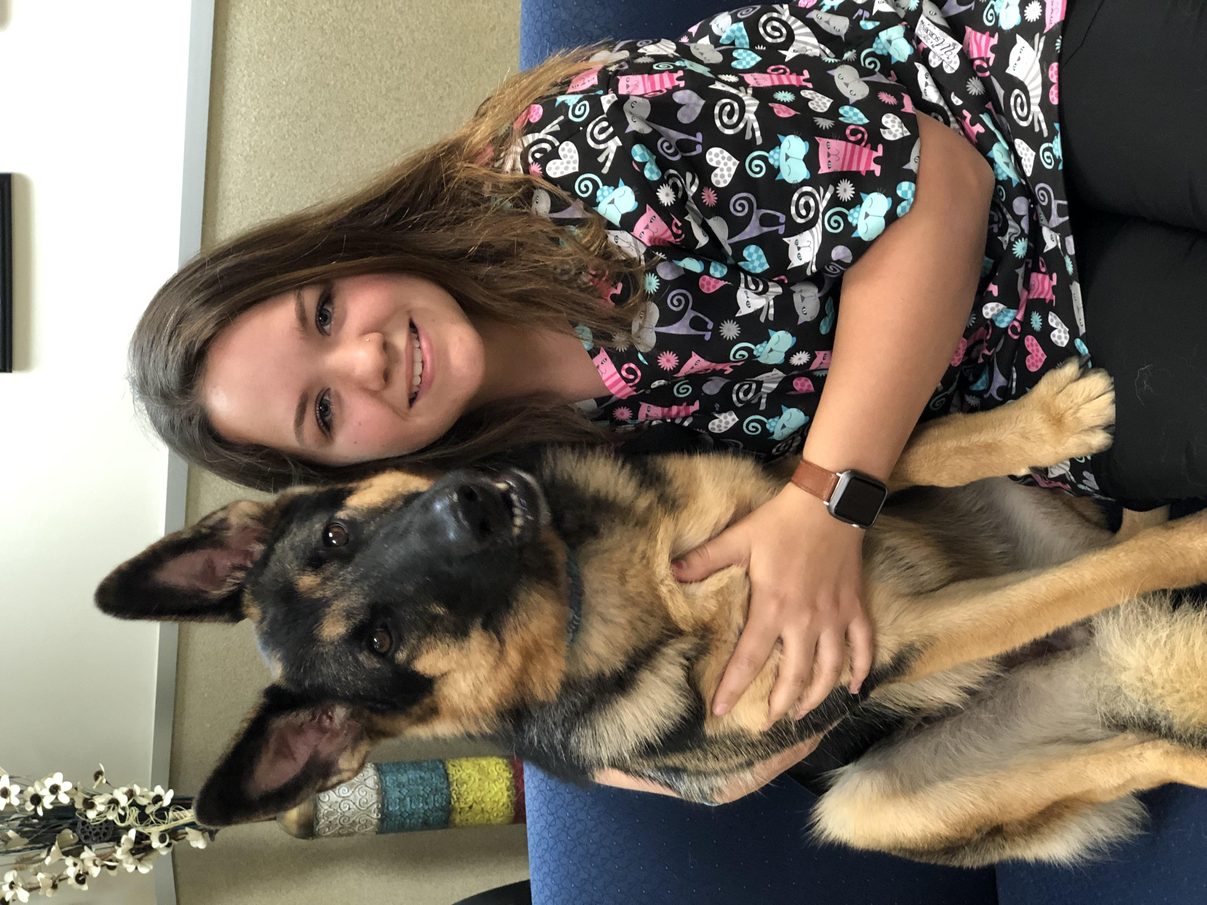 Mattie, Veterinary Assistant