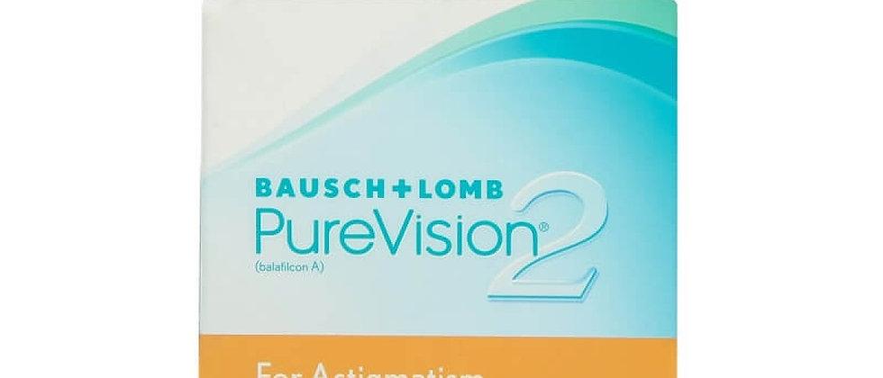 Pure Vision 2 Astigmatismo