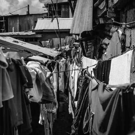 Kibera slum in Kenya