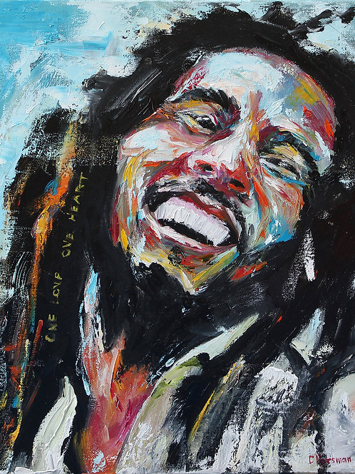 Bob Marley, 16 x 20