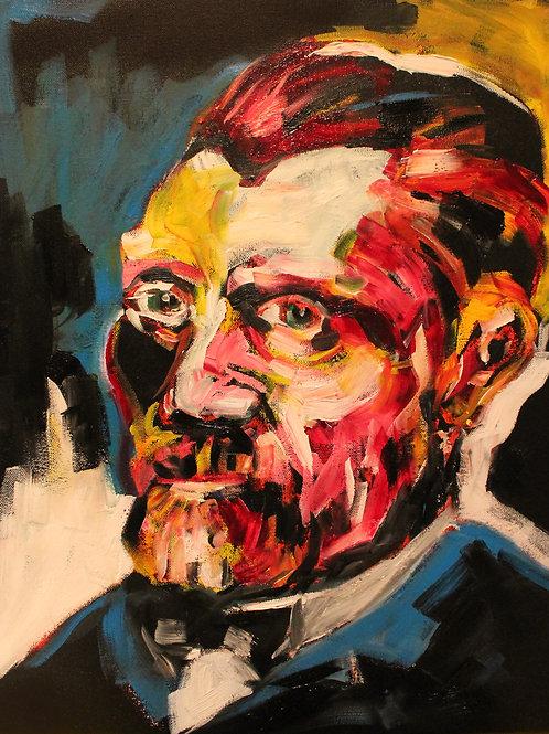 Van Gogh, 16 x 20, Framed
