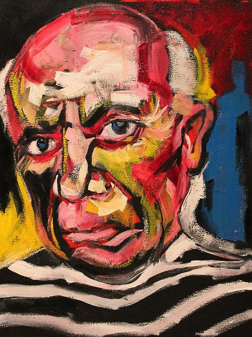 Picasso. 16 x 20 Framed