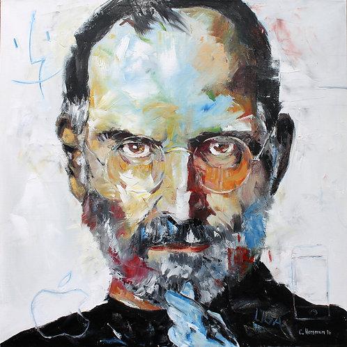 Steve Jobs Print. 14 x 14