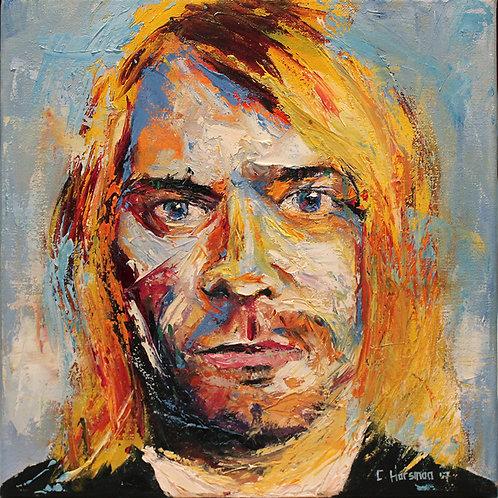 Kurt Cobain. 12 x 12