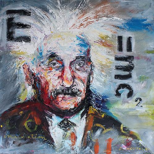 Einstein E=mc2. 24 x 24
