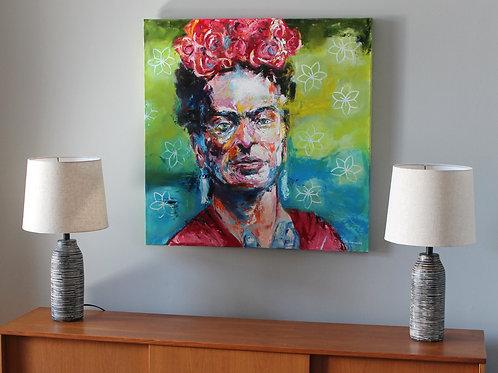 Frida Kahlo, 36 x 36