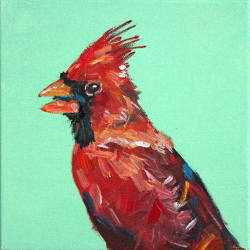 8x8 Cardinal in Profile