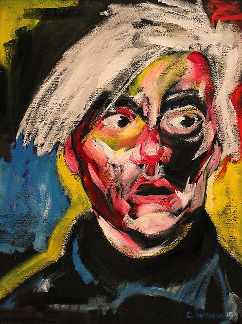 Warhol, 16 x 20 Framed