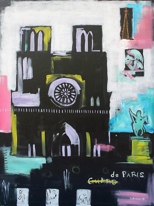 Notre Dame, 36 x 48