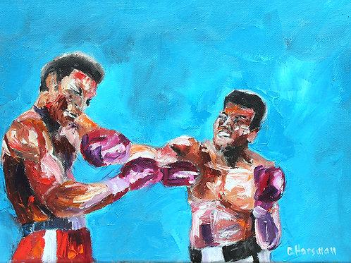 Ali vs Foreman 9 x 12