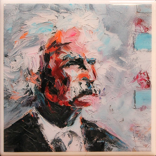 Mark Twain #2 Coaster