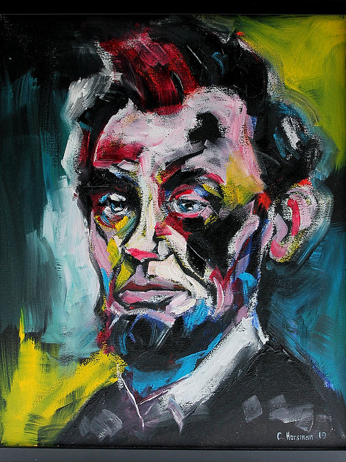 Abraham Lincoln. 16 x 20 Framed