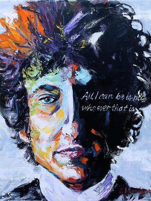 Bob Dylan, 16 x 20