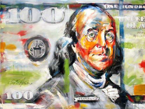 Benjamin Franklin Hundred Dollar Bill