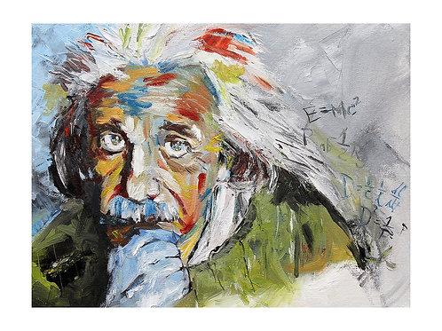 Einstein Print. 11 x 14
