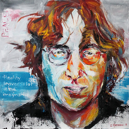 John Lennon. 20 x 20