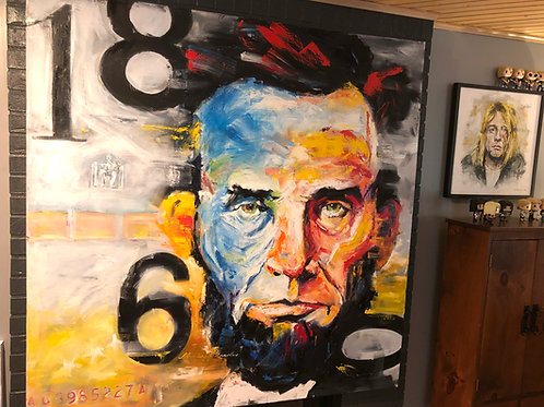 "60"" x 60"" 1860 Lincoln"