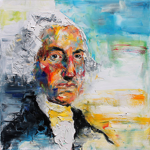 George Washington. 20 x 20