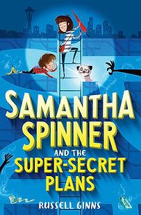 Samantha Spinner book cover