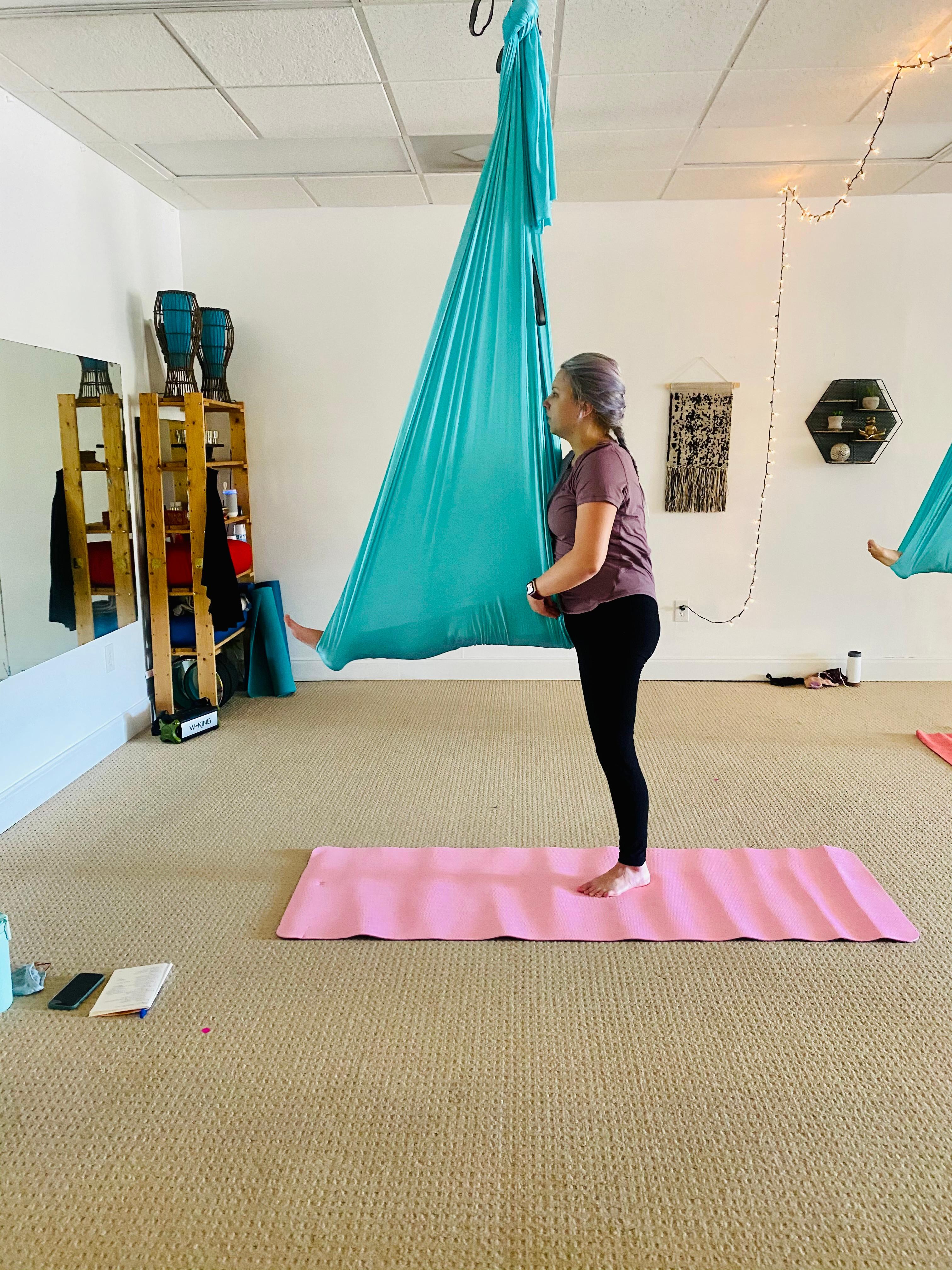 Saturday Beginner  Aerial Yoga