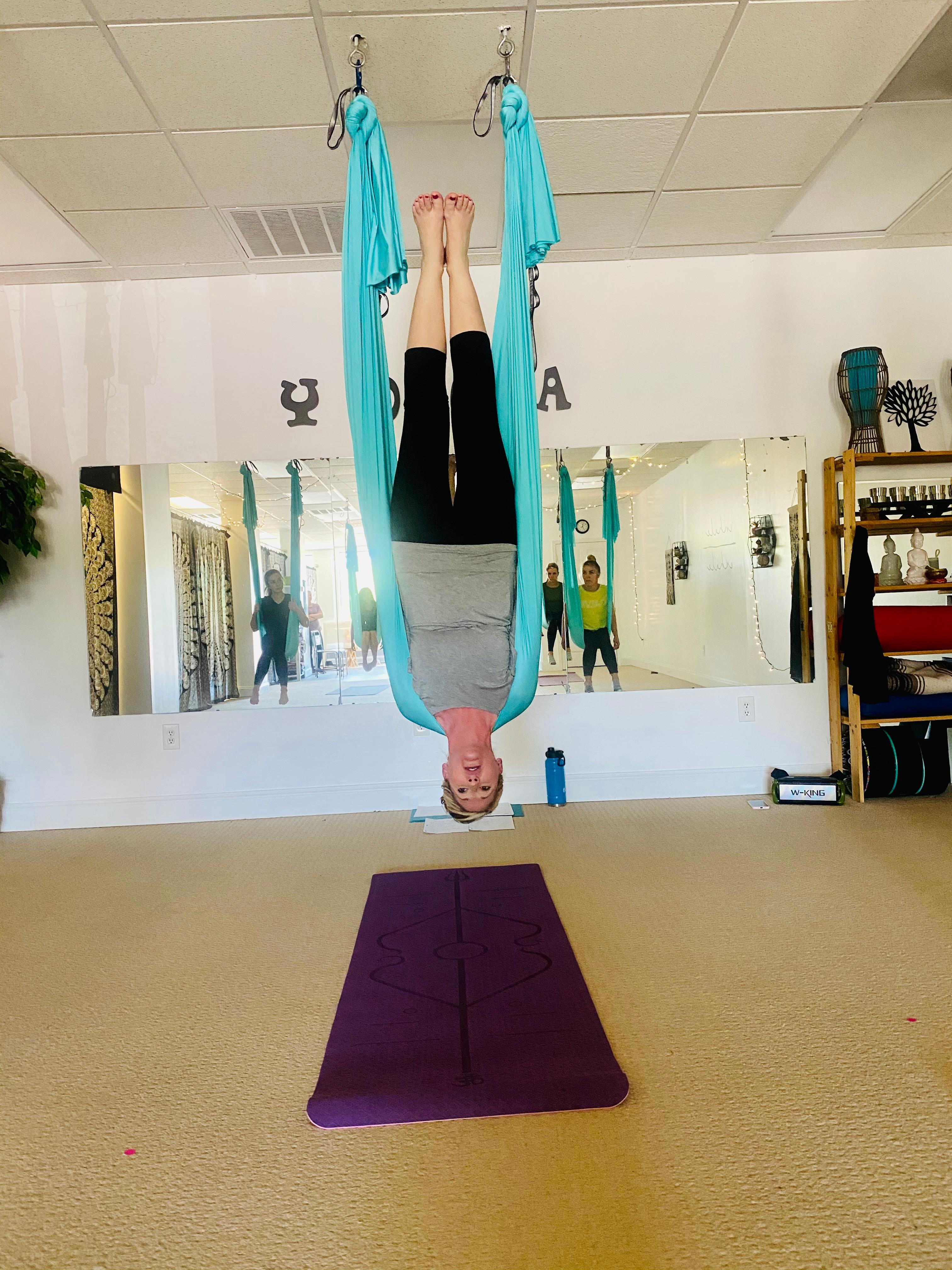 4 Week Intro. Aerial Yoga W/ Kristy