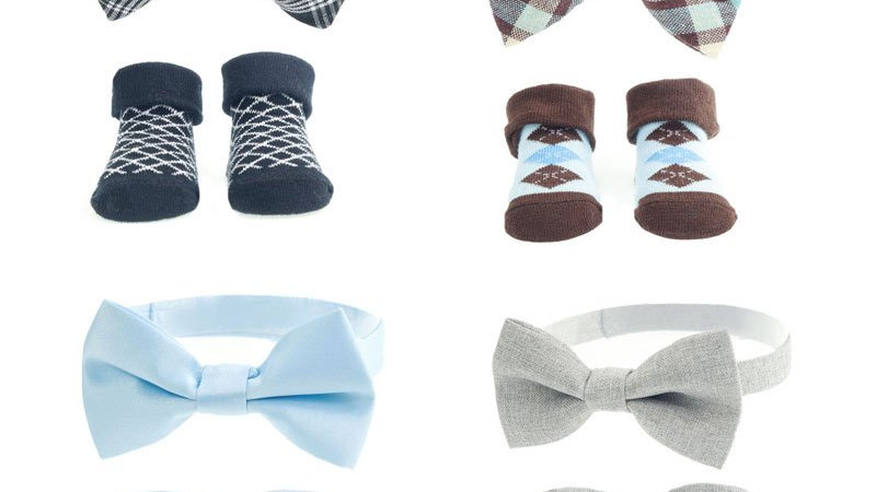 Bow Tie and Socks Set