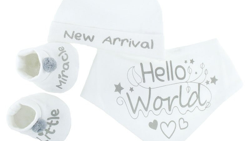 Hello World Set White