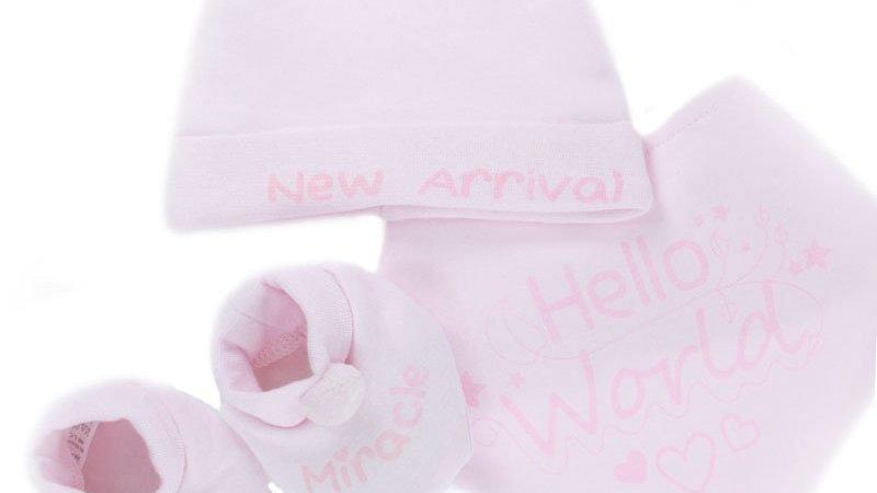 Hello World Set Pink
