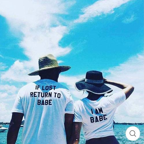 If Lost Return to Babe, I am Babe  (Set)