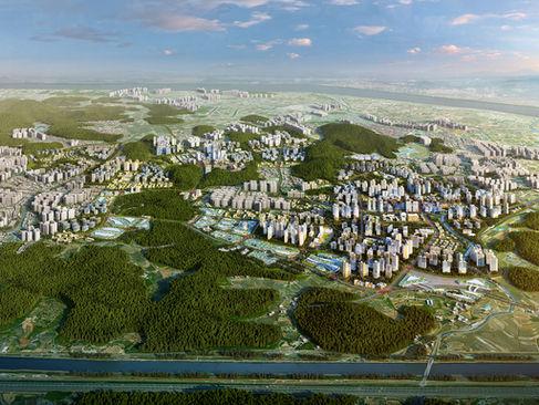 인천검단신도시-광역조감도