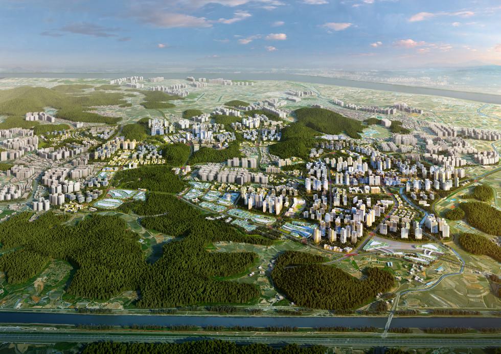 인천검단신도시 광역조감도