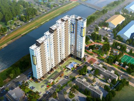 동두천 동두천동  APT건물조감도 자연속에 생활을 담은 풍경도시 공개