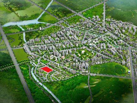 광역도CG,상가,오피스텔 광역도 제작,광역조감도제작 - 충남 홍성군 홍북읍 도청 광역조감도