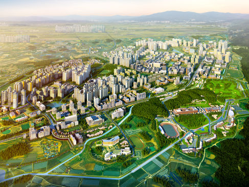 충북진천-혁신도시 광역조감도