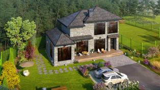가평 소법리 전원주택 계발계획과 전망좋은 조감도가격 보기