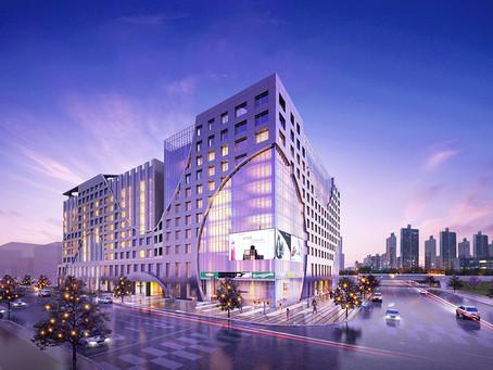 복합쇼핑센터 상가 상업시설 조감도제작인천 중구 운서동 복합쇼핑센터  조감도계획안