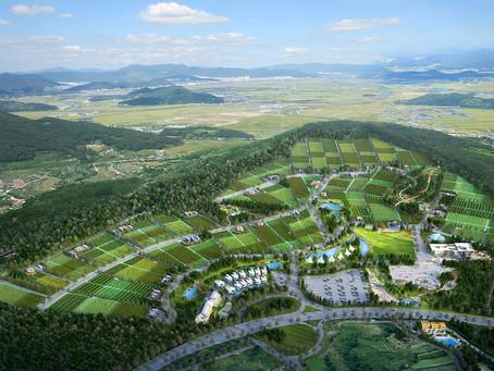 서산 대곡리 산림경영지 분양조감도 광역조감도  홍보