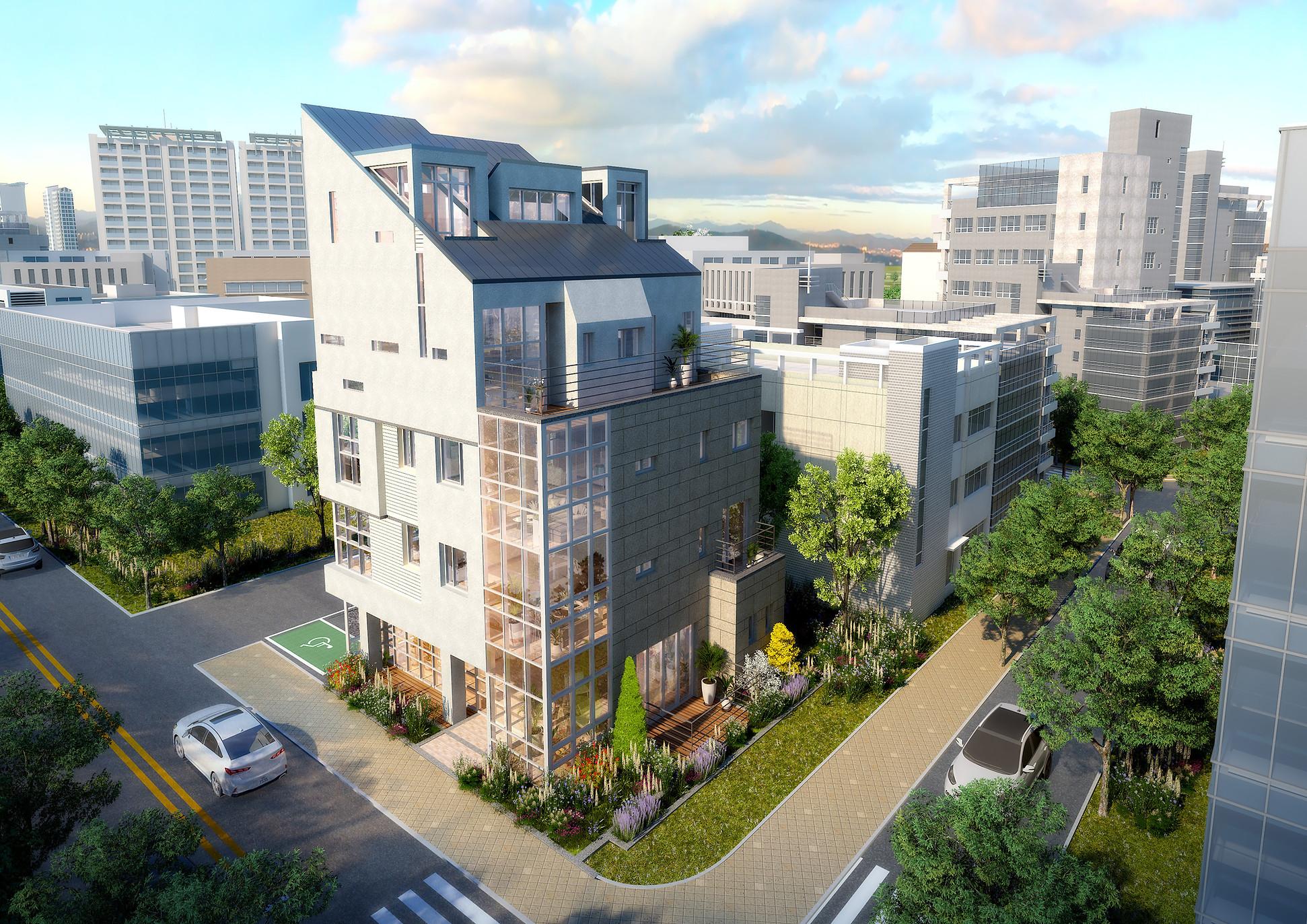 인천검단신도시-공동주택조감도