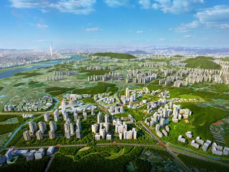 남양주 왕숙2 토지이용계획도와 광역조감도제작 서울주변과의 연동 자세히 보기