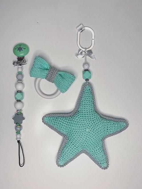 Geschenkset Stern - Nuggikette