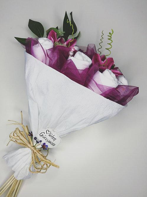 send a diaper bouquet