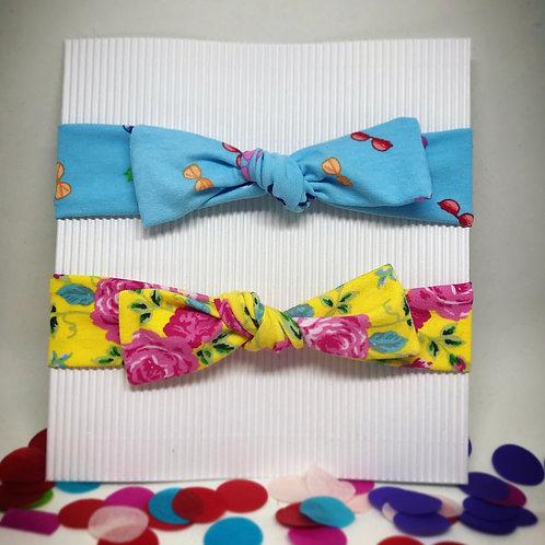 BabyHaar-/Stirnband Set *flower-sunglasses*