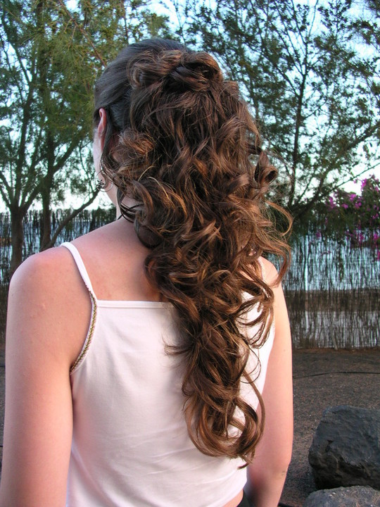 Cool Prom Hairstyles For Long Hair Curly Half Up Short Hair Fashions Short Hairstyles Gunalazisus