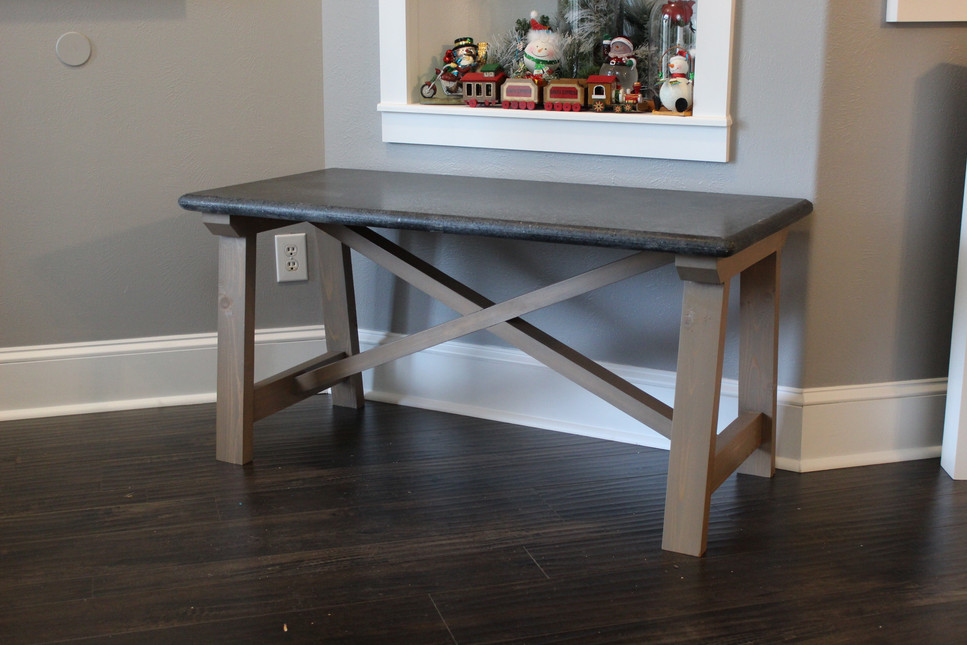 Farmhouse Granite Coffee Table