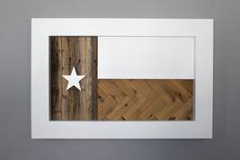 Texas Flag with Reclaimed Wood