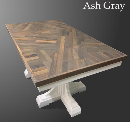 Scissor Tail Table in Ash Gray